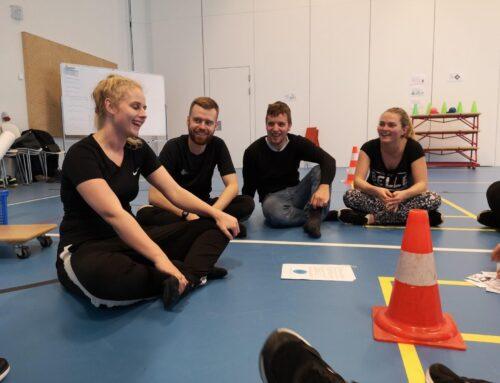 Tværprofessionelt samarbejde mellem lærer- og pædagogstuderende om trivsel og bevægelse i skolen