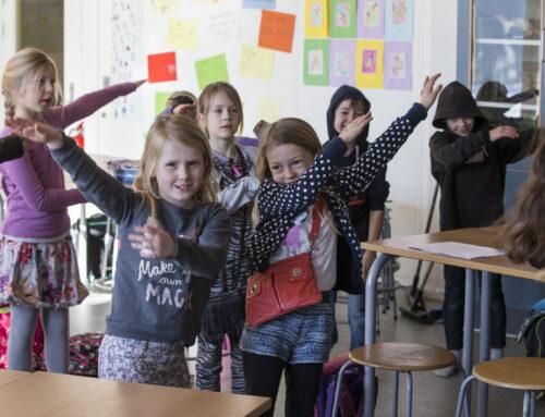 Bevægelse kan bane vej for elevens erkendelse på en anden måde end tavleundervisning